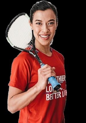 Role model: Nicol David, the only Asian nominated for the World Games Greatest-Athlete-of-All-Time award, won it hands down.