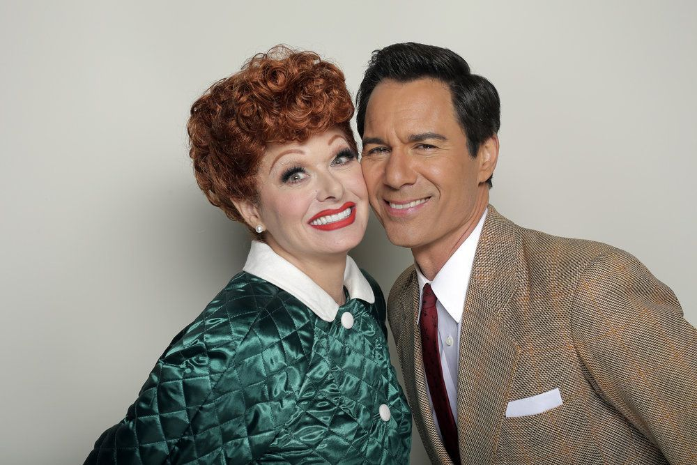 Debra Messing as Lucy (left) and Eric McCormack as Ricky in an episode of 'Will & Grace'. Photo: Handout