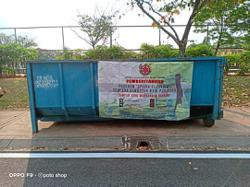 MBSA provides bins for bulk waste from CNY spring cleaning