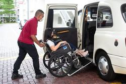 Easier rides for wheelchair users