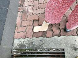 Councillor: Long-term solution needed for uneven tiling problem