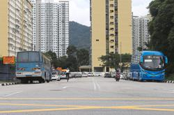 Lack of parking space for buses