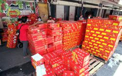 Mandarin orange wholesalers halve orders