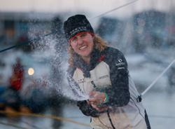 Sailing: Cremer breaks Vendee Globe women's record by seven days