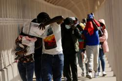 U.S. expels dozens of Haitian asylum seekers to Mexico