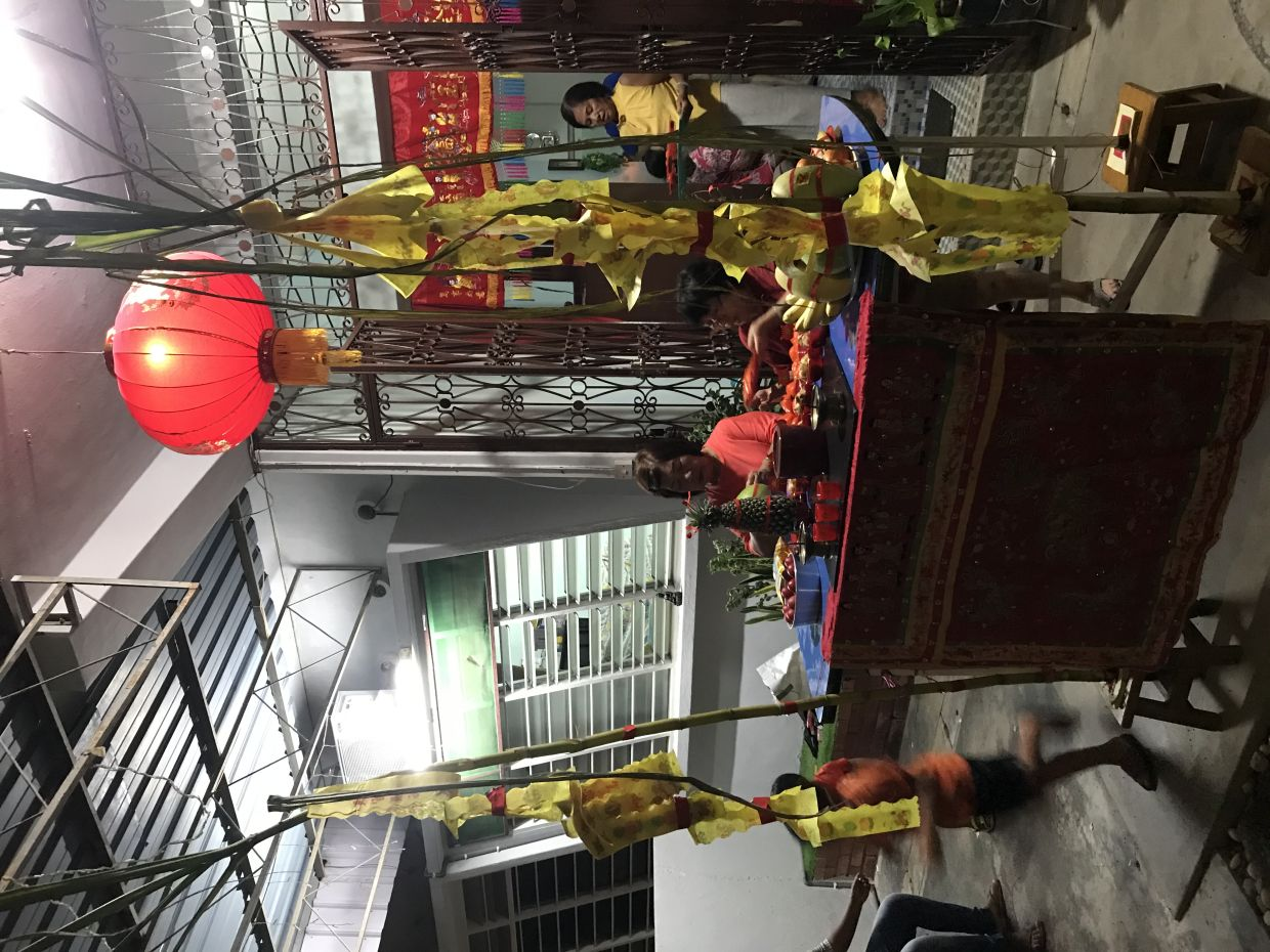 In Penang, Thnee Kong's birthday is observed with much pomp and pride.