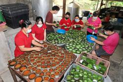 Coming together for nian gao