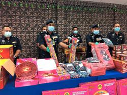 Melaka cops cracking down on fireworks