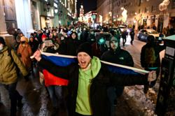 Fears raised over facial recognition use at Moscow protests