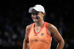 Tennis-Barty downs Rogers at Yarra Valley, Serena pulls out of semi