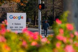 Alphabet union alleges contract workers were silenced about pay
