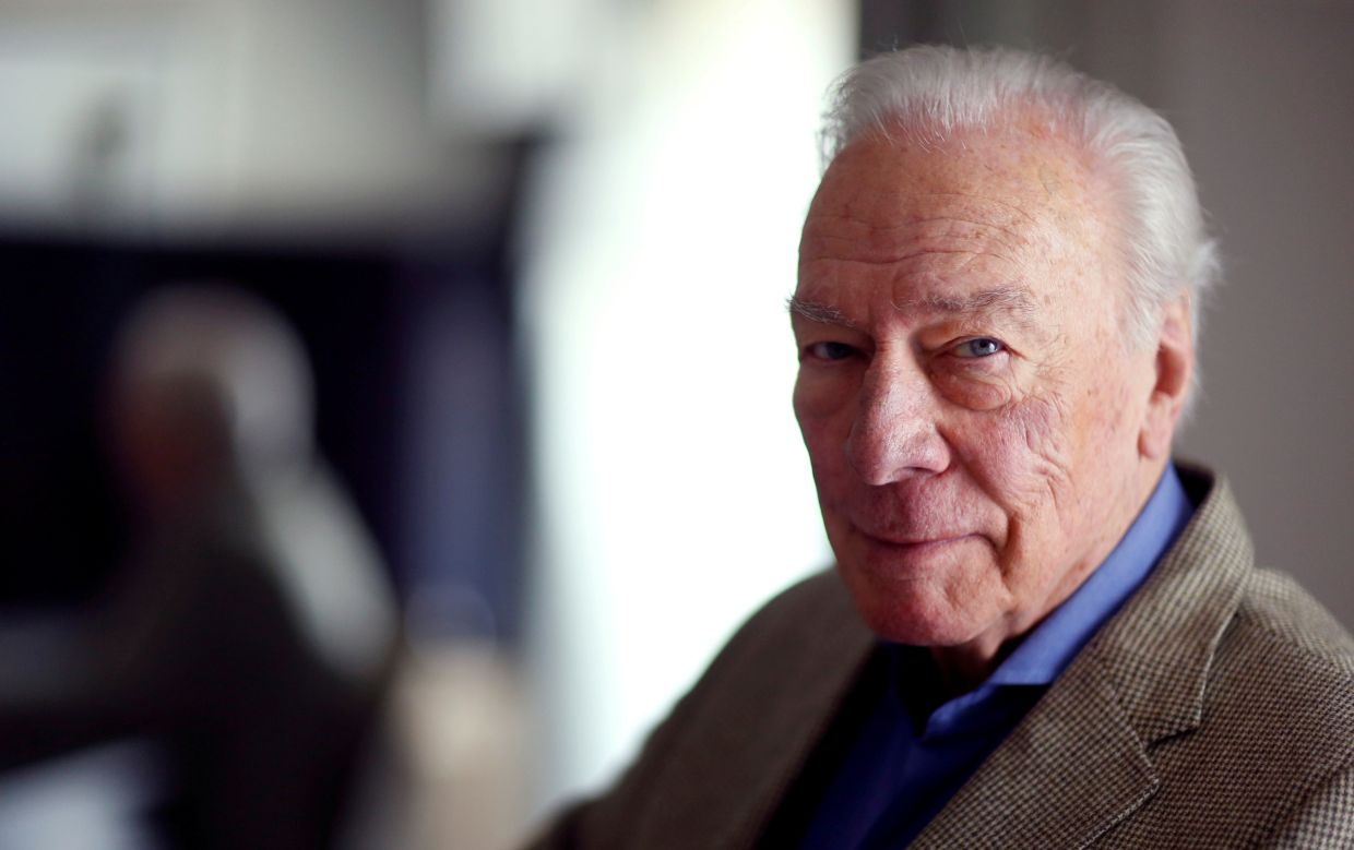 Christopher Plummer was best known for playing Captain Von Trapp in the Oscar-winning musical 'The Sound Of Music'. Photo: Reuters
