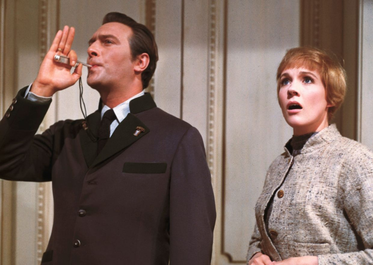 Christopher Plummer and Julie Andrews in 'The Sound Of Music'. Photo: Filepic