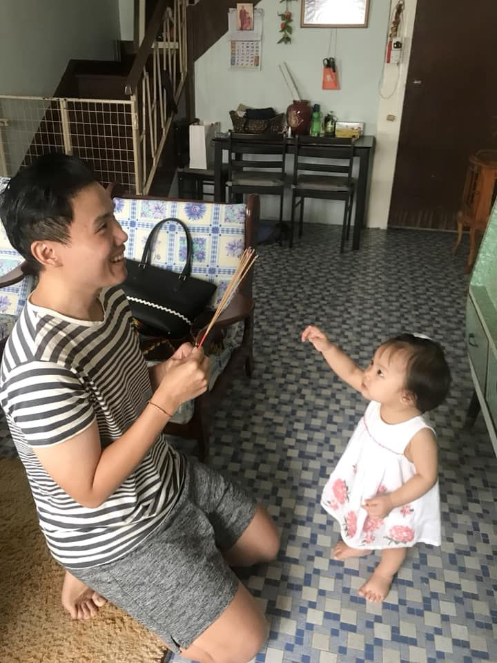 The writer hopes to pass down his unique Hokkien heritage to the younger family members.