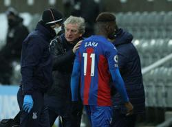 Palace boss Hodgson unsure over extent of Zaha injury