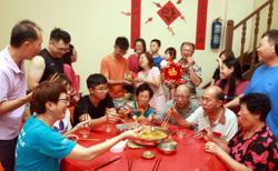 Many disappointed by reunion dinner SOP
