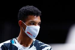 Canada's Auger-Aliassime crushes Moutet to reach Murray River final