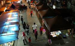 Pasar malam traders hope money will roll in again