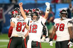 Brady leads Buccaneers to Super Bowl win on home field
