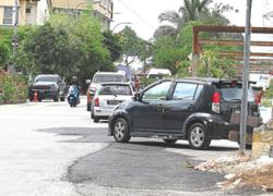 Illegally parked vehicles pose danger to Setapak apartment residents