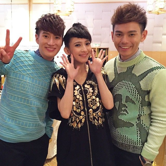 The duo said Malaysian artistes based in Taiwan are very supportive of each other including the Segamat, Johor native Penny Tai.