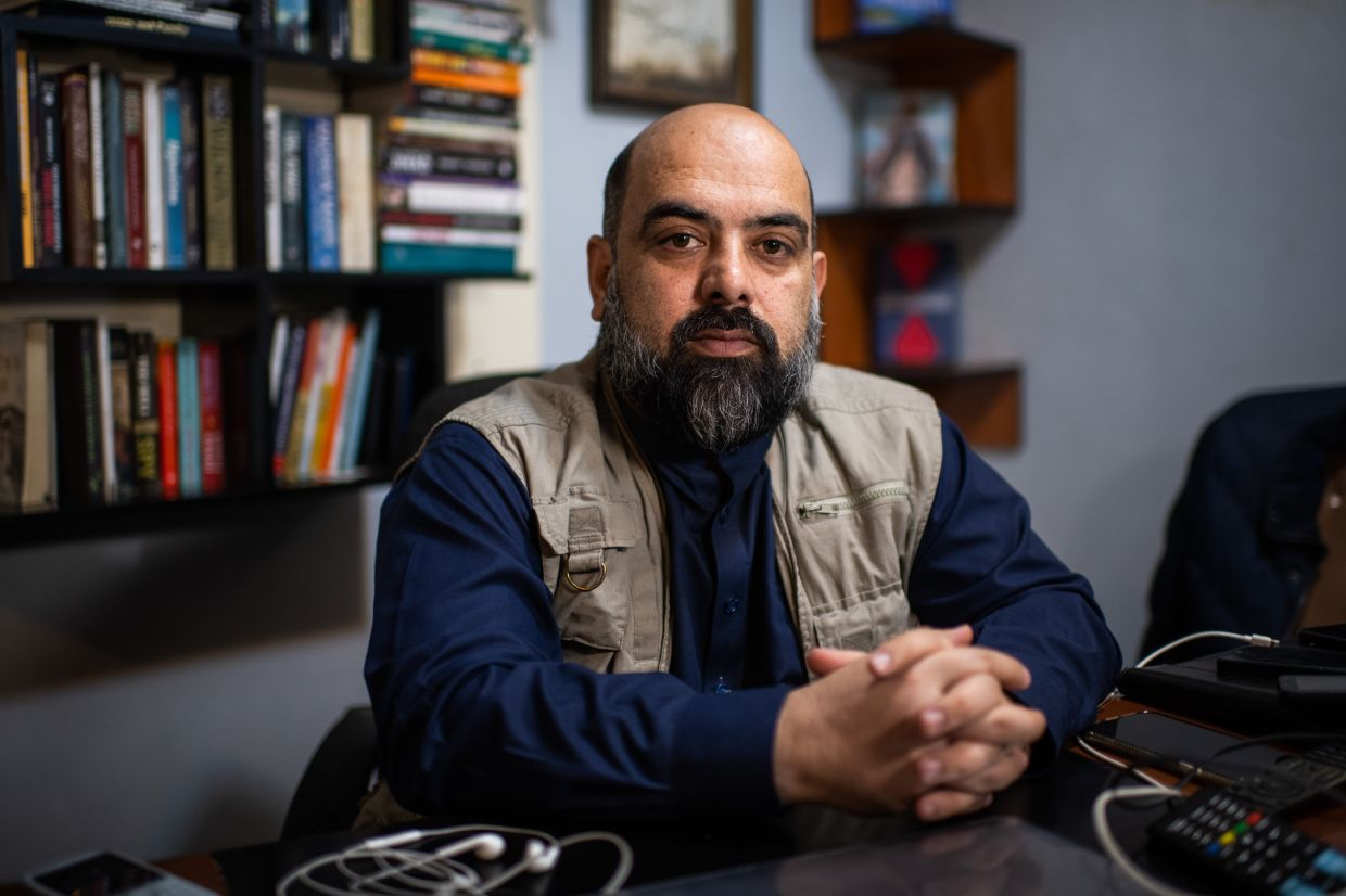 Well-known journalist Sarwary, a target of violence, says nowhere is safe in Kabul.