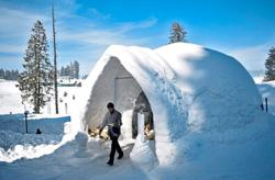 Tourists flock to the coolest igloo in Kashmir amid Covid-19