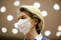 EU's von der Leyen admits to failings in vaccine fight