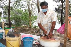 Fishermen selling plastic bottles dumped on Sg Tebrau riverbanks to make ends meet