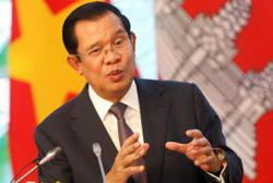 Cambodian PM sends greetings on Chinese New Year