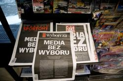 Polish media tax `unacceptable', says spokeswoman for coalition partner