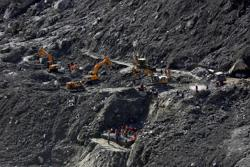 Hopes fade as rescuers struggle to find 35 men trapped in Indian Himalayas tunnel