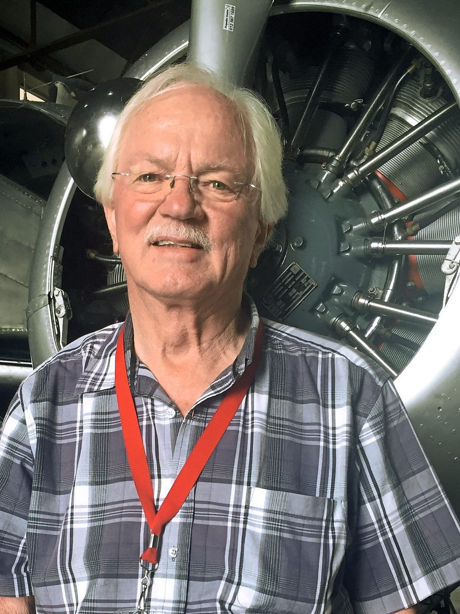 Pilot Flippie Vermeulen is responsible for South African Airways' collection of historic planes. — dpa/Ralf Krueger