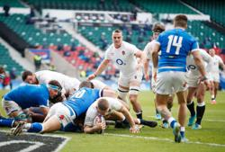 Two-try Watson leads England to comfortable win over Italy