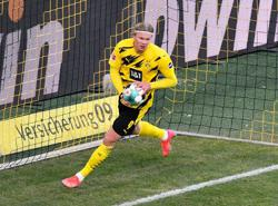 Late Haaland goal rescues point for Dortmund against Hoffenheim