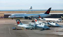 Air Canada encouraged by government aid talks