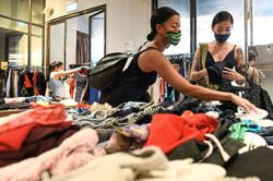 Swap shops offer alternative to fast fashion