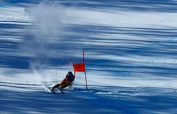 Alpine skiing - Crawford shock leader of men's combined after Super-G