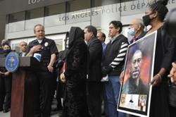 LAPD, police union outraged by report of George Floyd 'Valentine'
