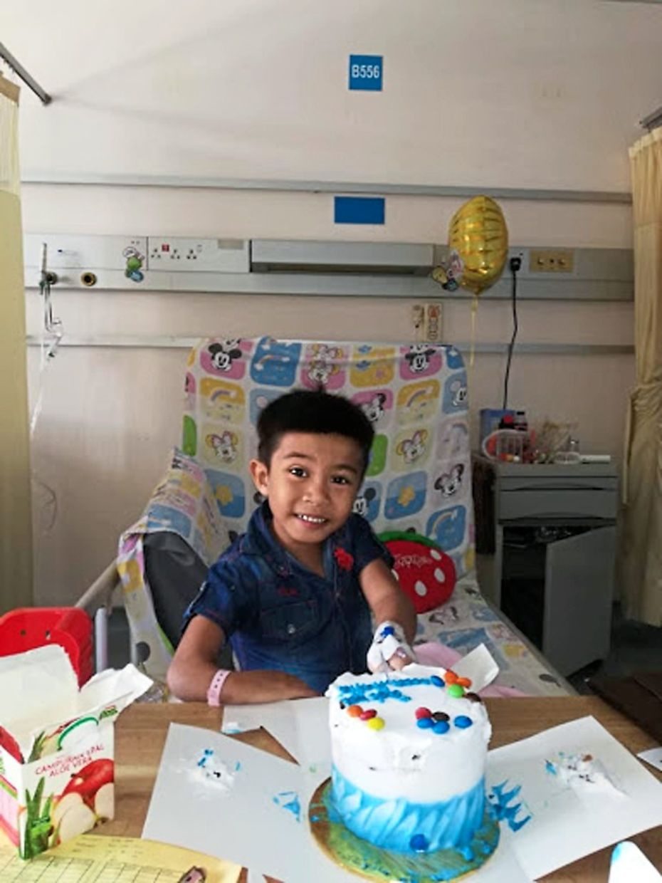 Hafiz, whose ambition is to be a firefighter, had a speedy recovery after undergoing heart surgery.