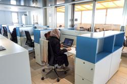 From conflict to co-working, Libyan youths share space