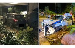 Cop, motorist injured in high-speed chase