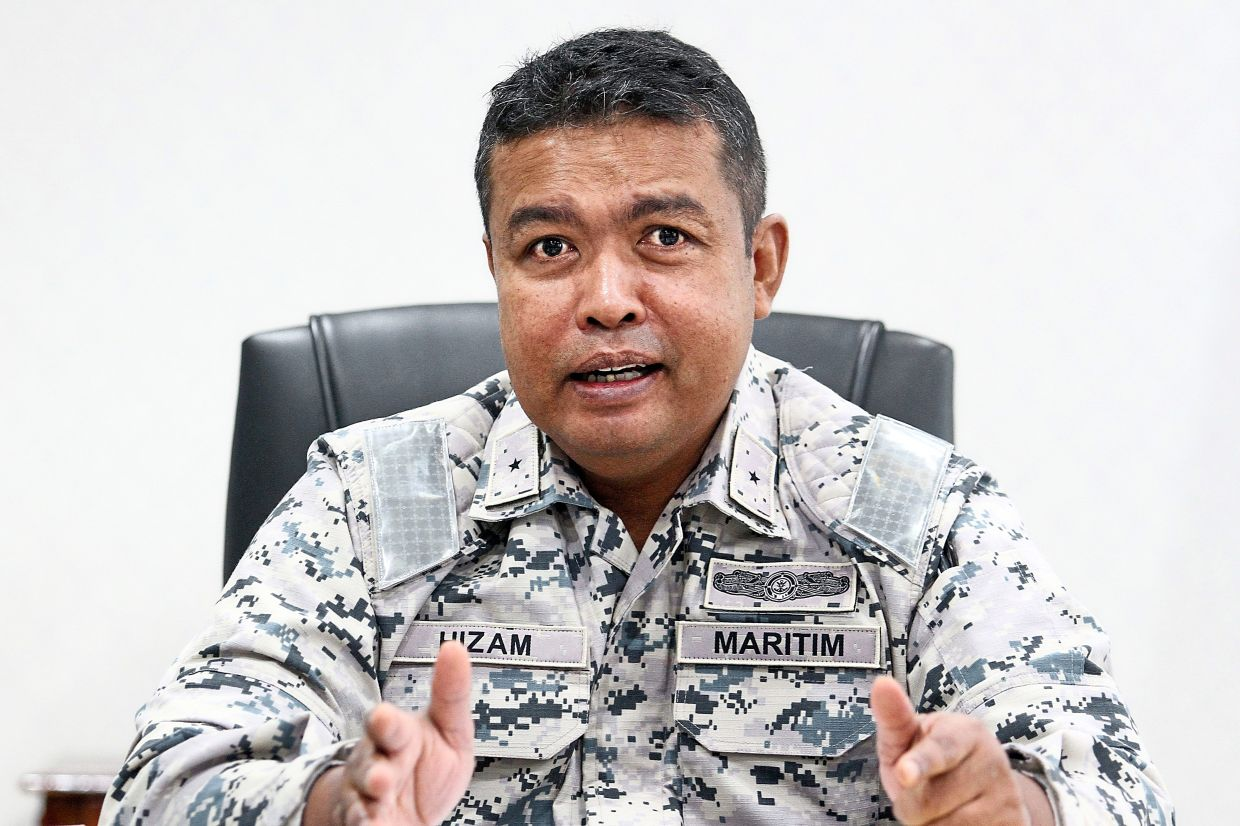 Nurul Hizam says ships illegally anchored in Johor waters have been a problem for the MMEA for many year