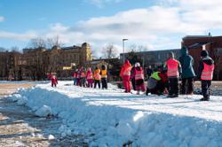 Norway recreates winter wonderlands to let people enjoy skiing