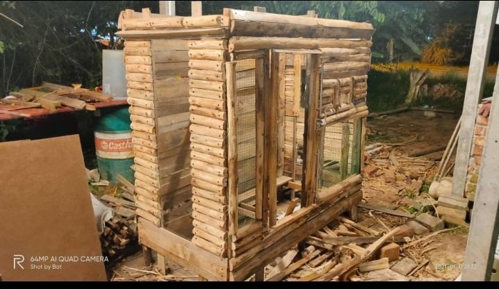 Rumah Meow was built using unwanted wood pieces Albark salvaged from the roadside around his Dusun Tua neighbourhood in Hulu Langat.