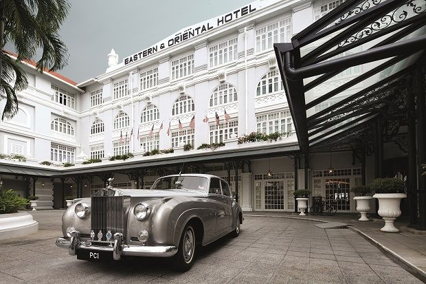 The globally renowned E&O Hotel in Penang.