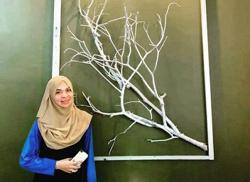 Kuala Pilah seamstress makes home decor pieces by upcycling unwanted materials