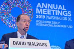 World Bank taking 'extra cautious' approach toward Myanmar - Malpass