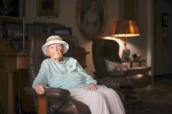 A centenarian tells the tale of two pandemics