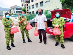 Malaysian IT manager arranges free meals for Covid-19 patients at local hospital